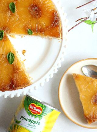 Upside Down Pineapple Bundt Cake